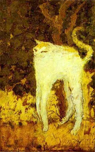 Pierre Bonnard the White Cat