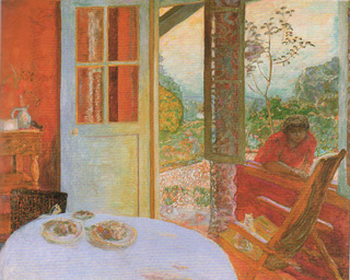 The Dining Room in the Country Pierre Bonnard, 1913 Minneapolis Institute of Art
