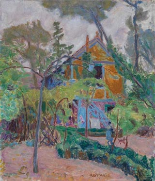House Among the Trees, or My Caravan at Vernonnet, 1918 Pierre Bonnard, 1918