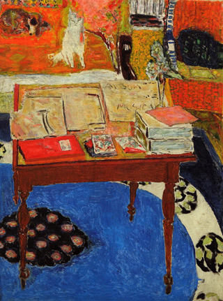 Pierre Bonnard The Work Table