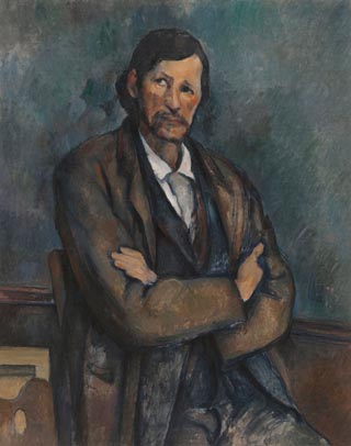 Paul Cezanne Man with Crossed Arms 1899
