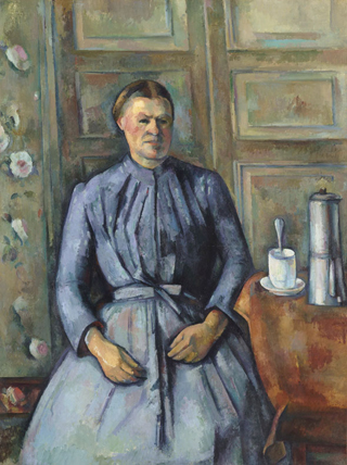 Paul Cezanne Woman with a Coffeepot 1895
