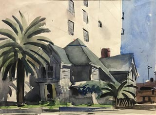 Mary Blair, 1911-1978 Untitled, Los Angeles House c1935-40 Courtesy of Maggie Richardson