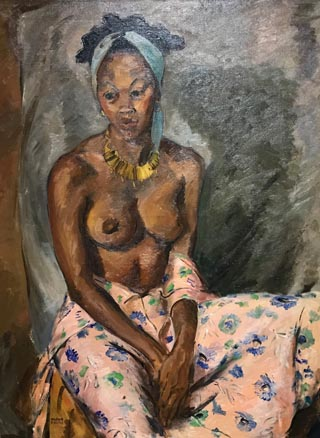 Marian Curtis, 1912-1972 Untitled, Semi-nude Portrait, c1940 Private Collection