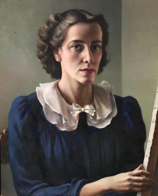 Ruth Miller Kempster, 1904-1978 Portrait of Myself , c1935 Courtesy of Constance Crawford