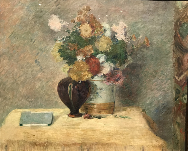 Still Life with Flowers, 1882. Paris Ny Carlsberg Glllypothek