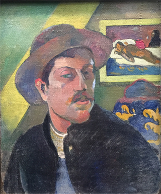Self Portrait with Hat, 1893-94 Musee d'Orsay