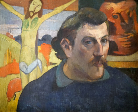 Paul Gauguin 1848-1903, The Yellow Christ, 1889