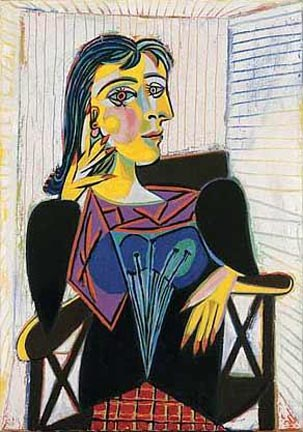 Picasso Portrait of Dora Maar