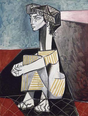 Pablo Picasso Jacquiline with Hands Crossed 1954
