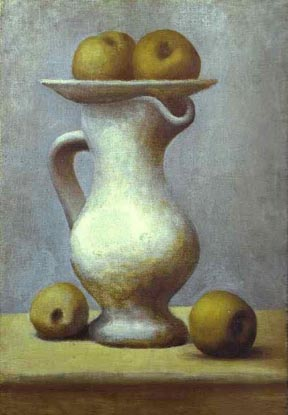 Pablo Picasso Still Life Pitcher with Apples