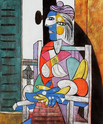Pablo Picasso Woman Seated Before a Window 1937