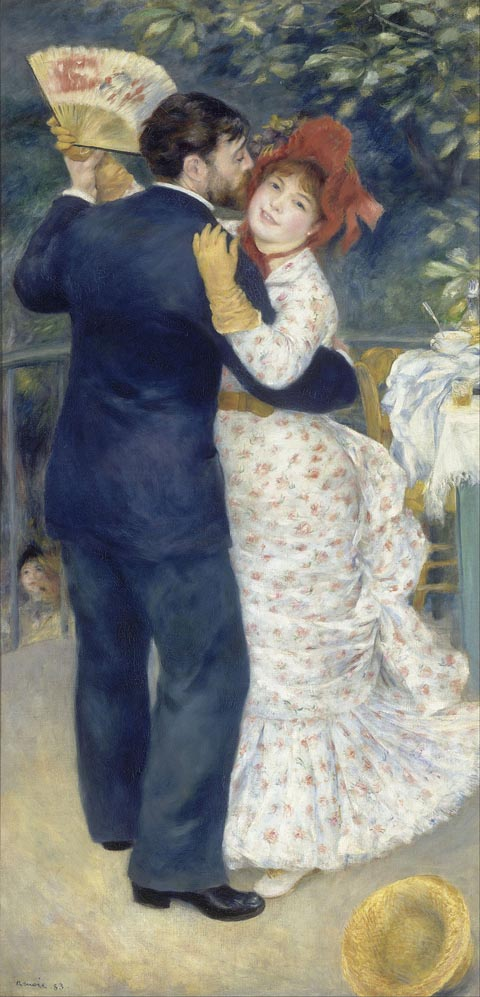 Pierre-Auguste Renoir 1841-1919, A Dance in the Country, 1883