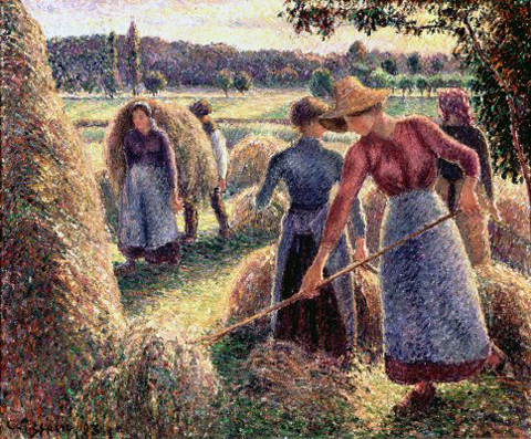 Pissaro The Haymakers 1893