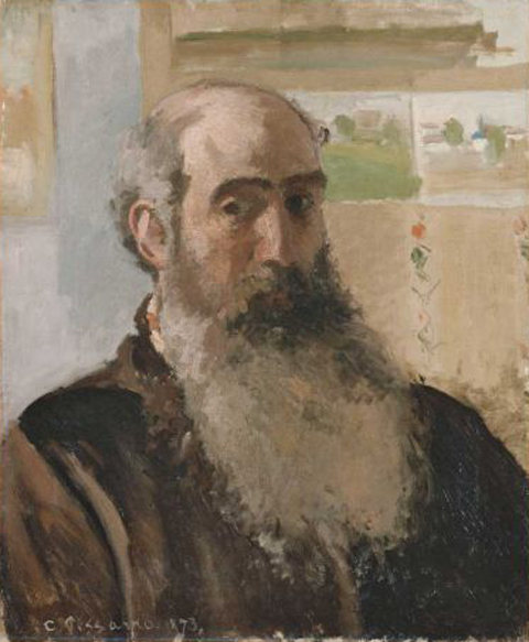 Pissaro Self Portrait 1873
