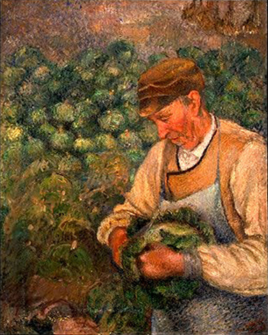 Pissaro The Gardener c 1890