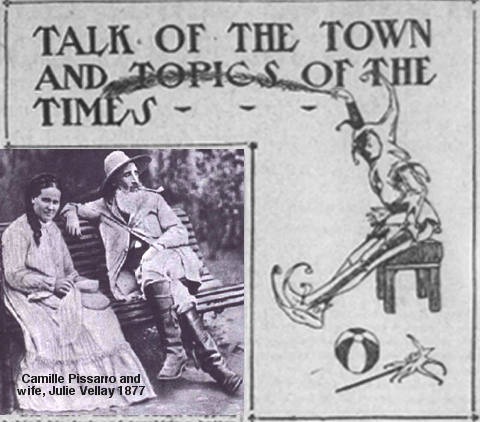 San Francisco Call Talk of the Town and Topics of the Times Header