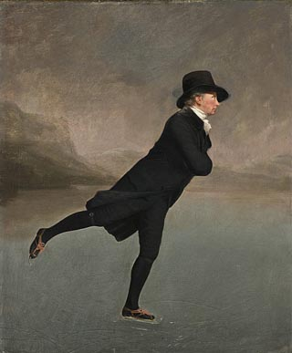 Sir Henry Raeburn Rev Robert Walker Skating on Duddingston Loch