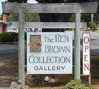 Ren Brown Collection Sign