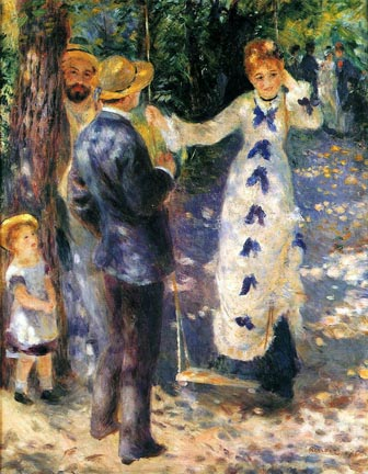 Pierre Auguste Renoir The Swing