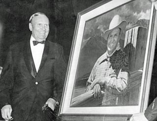 Robert Rishell's portrait of Gene Autry