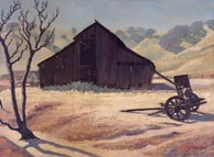 Robert Rishell Old Barn Hills and Oaks 194