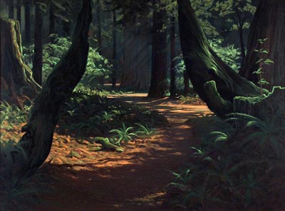 Robert Rishell Trail of the Giants 30 x 40