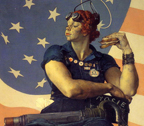 Norman Rockwell Rosie the Riveter Thumbnail