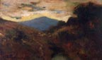 Benignino Yamero Ruiz Mountain Sunset Thumbnail