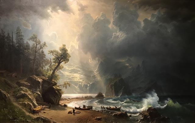Puget Sound on the Pacific Coast, 1870 Albert Bierstadt, 1830-1902