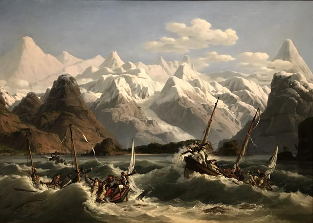 Shipwreck off the Coast of Alaska, 1806 Louis-Philippe Crepin, French, 1772-1851