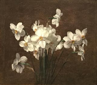 Narcissus, laate 19th, early 20th century Victoria Dubourg Fantin-Latour, French, 1840-1926