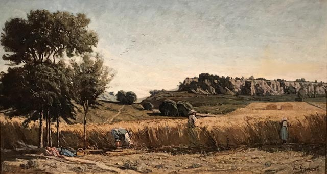 Wheat Field, 1860 Paul Camille Guigou, French, 1834-1871