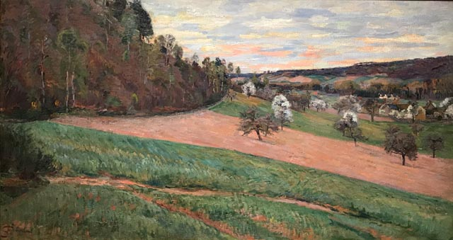Essence of Spring, Chevreuse Valley, ca 1885 Jean-Baptiste Armand Guillaumin, French, 1841-1927