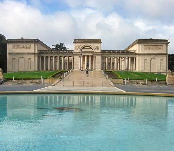 Exterior SF The Palace of the Legion of Honor San Francisco