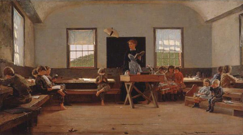 Winslow Homer The Country School1871