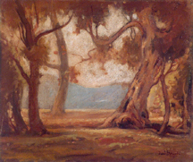 Davis Francis Schwartz California Landscape with Trees Midsized Thumbnail