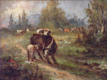 Meyer Straus Cows and Calf Midsized thumbnail