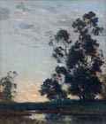 Dedrick Stuber  Eucalyptus and farmhouse