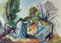 Charles Surrendorf Landscape with Boulders