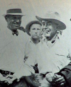 Will Rogers and Jimmy Swinnerton