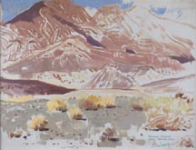 Jimmy Swinnerton Nevada Desert Near Hoover Dam Midsized Thumbnail