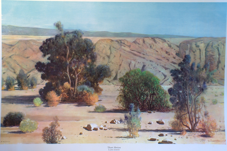 Printbin James Guilford Swinnerton Desert Horizon