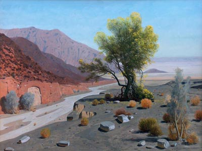 James Swinnerton  Smoke tree wash