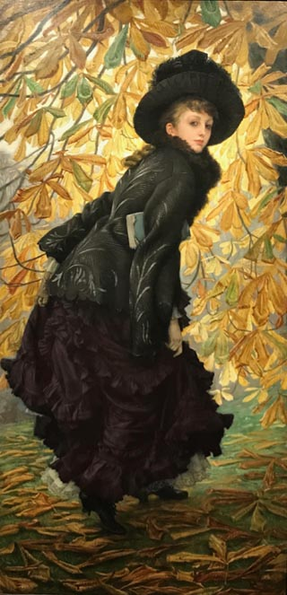 James Tissot, October, 1877 The Montreal Museum of Fine Arts, Montreal