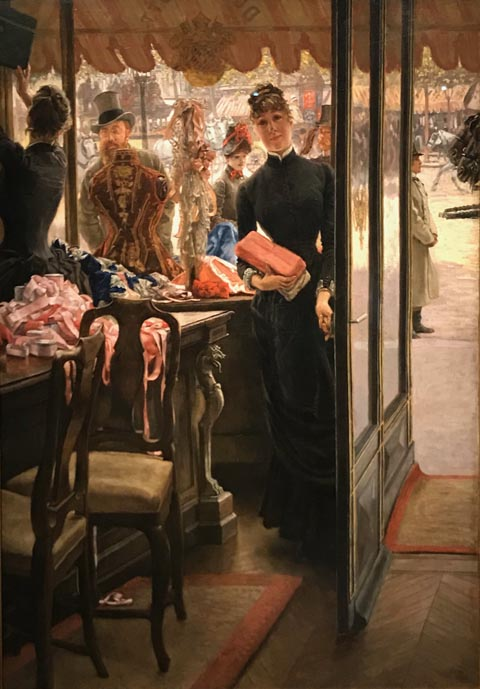 James Tissot, The Young Lady of the Shop Art Gallery of Ontario, Toronto