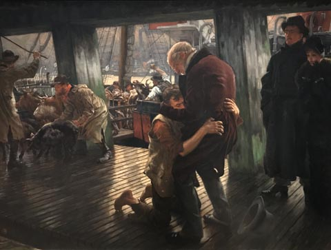 James Tissot, The Prodigal Son in Modern Life: The Fatted Calf, 1880 Musee d'Arts de Nantes, Nantes, France