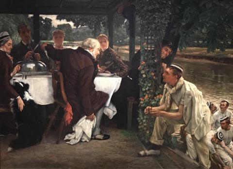 James Tissot, The Prodigal Son in Modern Life: The Return, 1880 Musee d'Arts de Nantes, Nantes, France