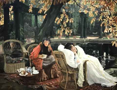James Tissot, The Convalescent, 1875 Museums Sheffield, England