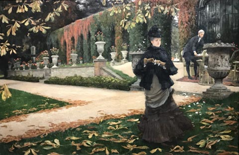 James Tissot, The Reply or The Letter, 1874 National Gallery of Canada, Ottowa